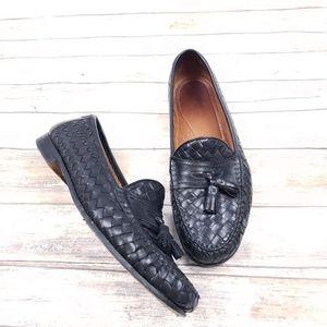 Allen Edmonds Woven Tassel Loafers Size 10
